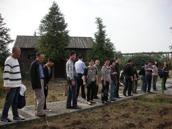 参观湿地农事活动-浙江工商大学工会委员会